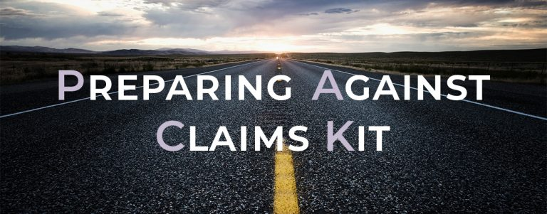 Preparing Against Claims Kit