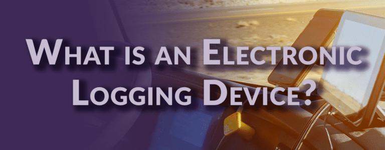 Electronic Logging Device
